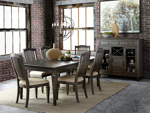 Magnussen Home - Rectangular Dining Table - D3612-20