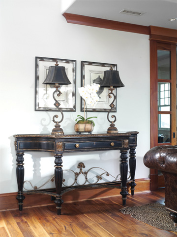 Marge Carson - Marble Top Console - MTQ06