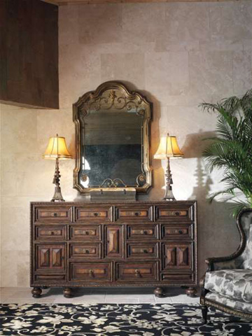 Marge Carson - Arched Wall Mirror - SEV17