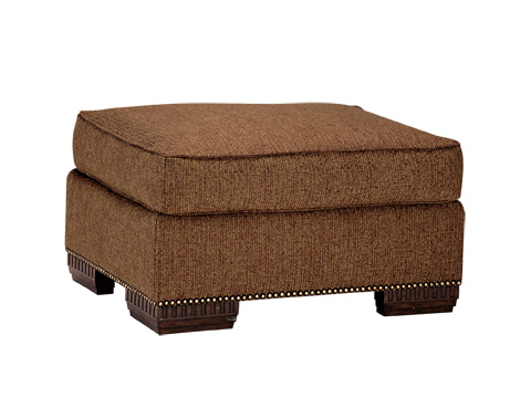 Marge Carson - Bentley Small Ottoman - BY48S