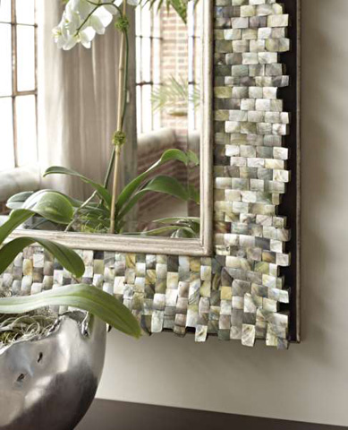 Marge Carson - Rectangular Wall Mirror - SNA17-1