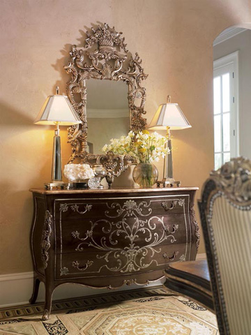 Marge Carson - Carved Wall Mirror - VV17