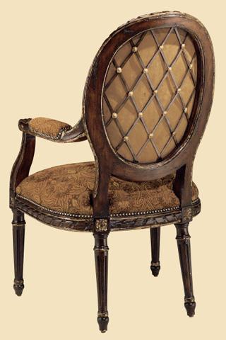 Marge Carson - Oval Back Arm Chair - VV66