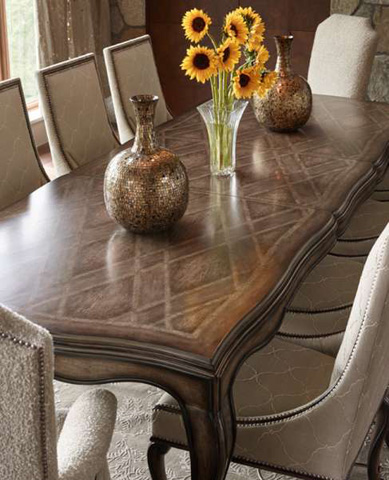 Marge Carson - Cross Channel Large Dining Table - CRC21L