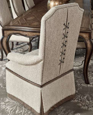 Marge Carson - Cross Channel Arm Chair - CRC46
