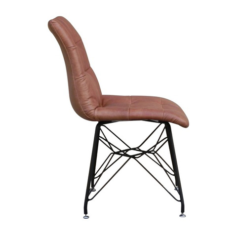 Maria Yee - Oscar Leather Side Chair - 260-106892