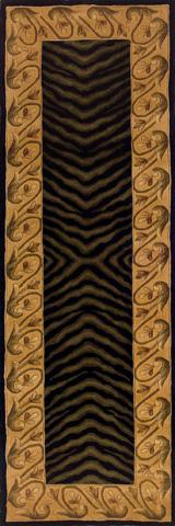 Momeni - New Wave Rug in Black - NW-009 BLACK