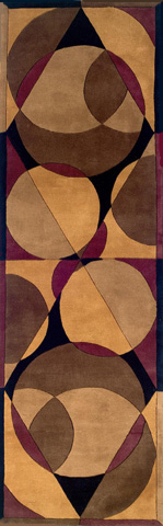 Momeni - New Wave Rug in Brown - NW-078 BROWN