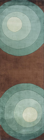 Momeni - New Wave Rug in Teal - NW-082 TEAL