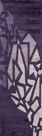 Momeni - New Wave Rug in Purple - NW-119 PURPLE