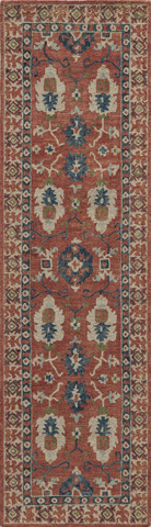 Momeni - Tangier Rug in Red - TAN-03 RED