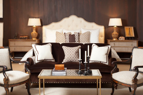 Mr. and Mrs. Howard by Sherrill Furniture - Fairholm King Bed - MH10523