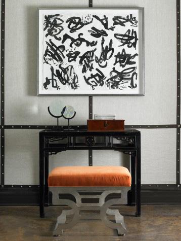 Mr. and Mrs. Howard by Sherrill Furniture - Villa Rica Ottoman - H204OT