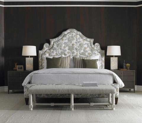 Mr. and Mrs. Howard by Sherrill Furniture - Shelter Island Queen Bed - MH11514