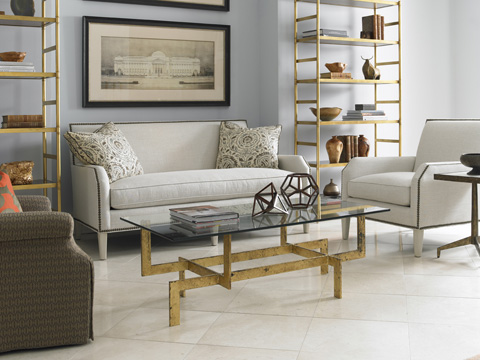 Mr. and Mrs. Howard by Sherrill Furniture - Parker Sofa - H706M