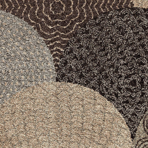 Orian Rugs - Oystershell Seal Black 5'3
