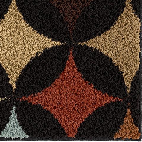 Orian Rugs - Pelzer Black 5'3