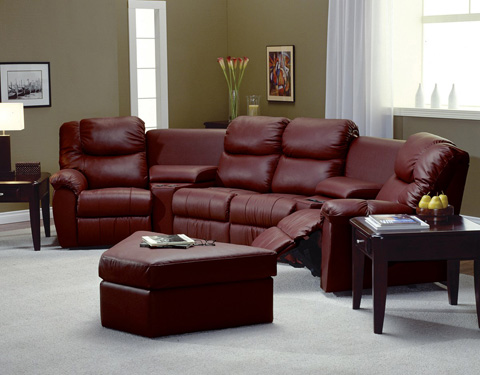 Palliser Furniture - Console Loveseat with Cup Holder - 41094-58