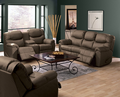 Palliser Furniture - Sofa Recliner with Table - 46094-52