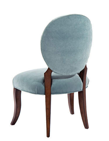 Pearson - Oval Back Upholstered Chair - 1403-00