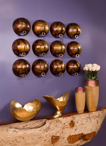 Phillips Collection - Bronze Spheres Wall Tile - DR57425