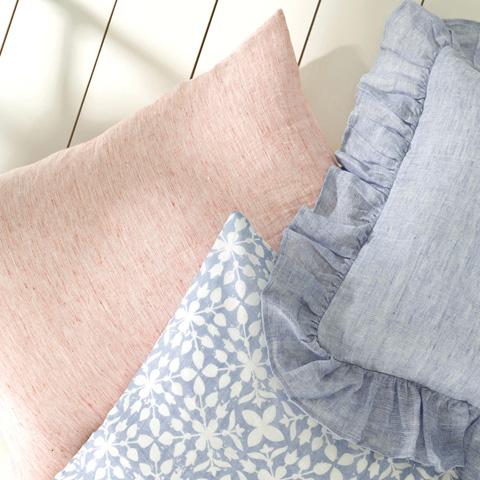 Pine Cone Hill, Inc. - Veena Blue Decorative Pillow - VEBDPDB