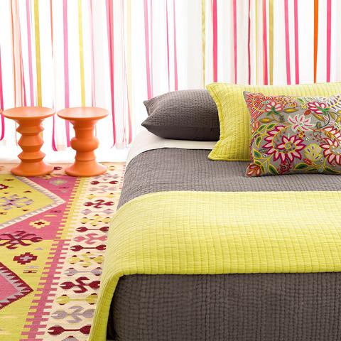 Pine Cone Hill, Inc. - Lima Grey Decorative Pillow - LIGDP20