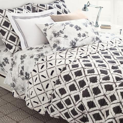 Pine Cone Hill, Inc. - Naraya Grey Quilt in Full/Queen - Q267FQ