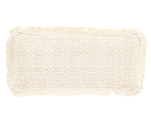 Image of Anka Ivory Decorative Pillow