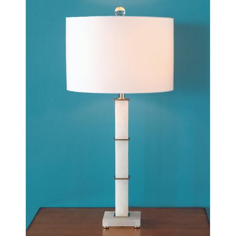 Port 68 - Rialto Alabaster Lamp - LPAS-215-01