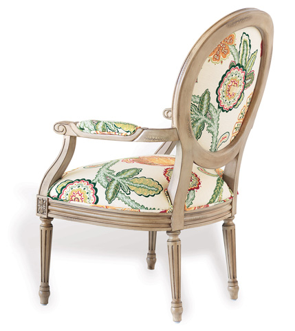 Port 68 - Avery Chair in Antiqued Ivory Finish - AFAS-042-02