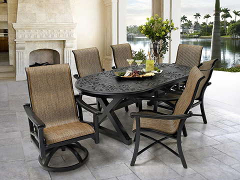 Castelle - Chateau Sling Dining Chair - 1296S