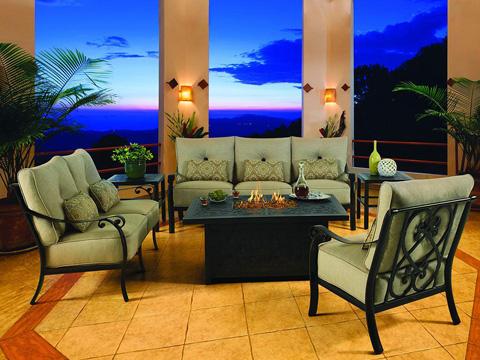 Castelle - Bellanova Cushioned Lounge Swivel Rocker - 5415T