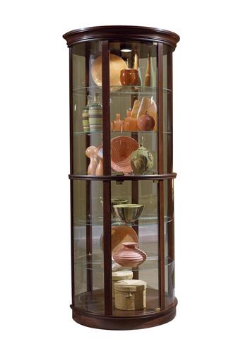 Image of Half Round Curio