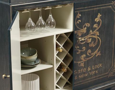 Pulaski - Wine Cabinet - 730046