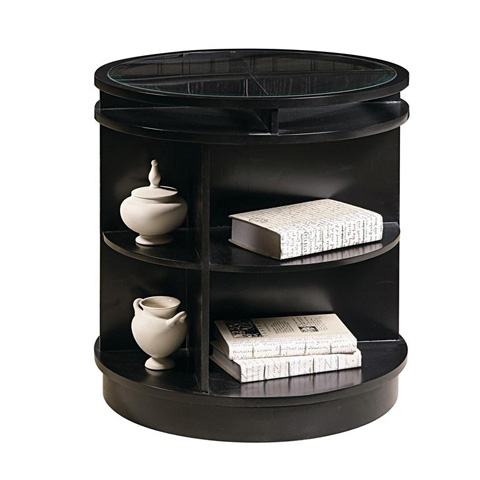 Pulaski - Swivel Accent Table - DS-730073