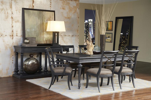 Pulaski - Vintage Tempo Leg Dining Table - 402240