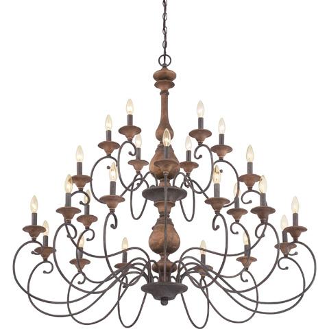 Quoizel - Auburn Foyer Piece - ABN5024RK
