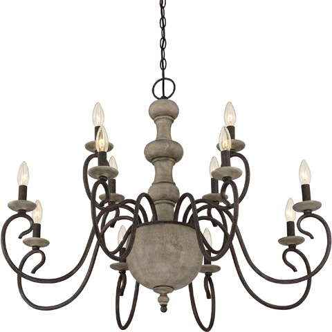 Quoizel - Castile Foyer Piece - CS5012RK