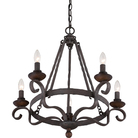 Quoizel - Noble Chandelier - NBE5005RK