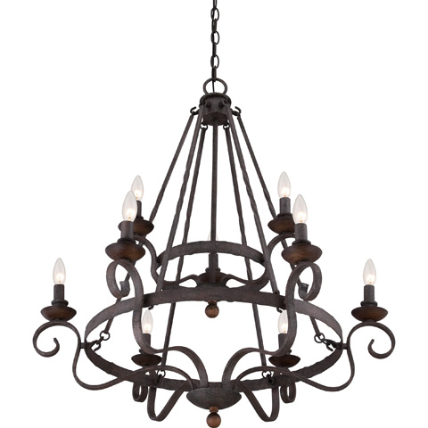Quoizel - Noble Foyer Piece - NBE5009RK