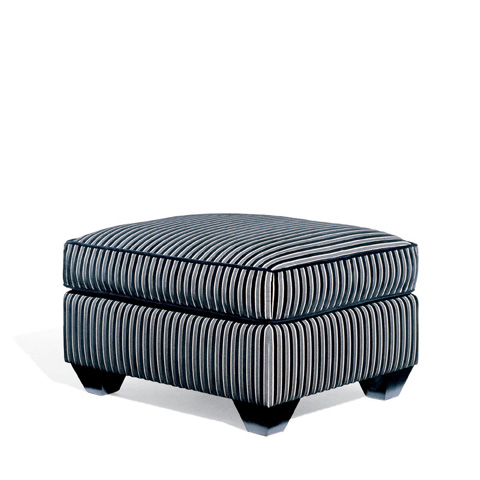 Ralph Lauren by EJ Victor - London Club Ottoman - 661-03