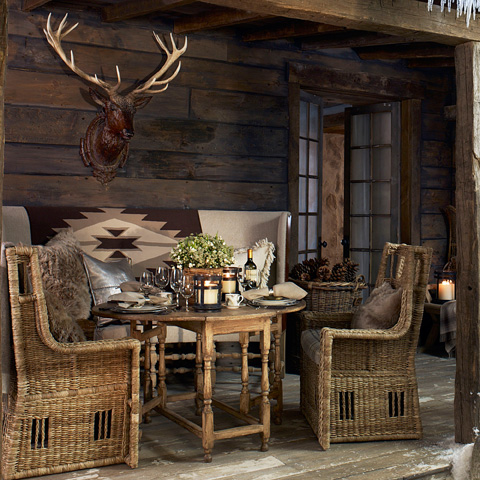 Ralph Lauren by EJ Victor - Seagrass Chair - 850-27