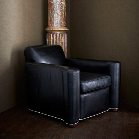 Ralph Lauren by EJ Victor - Brook Street Club Chair - 762-03