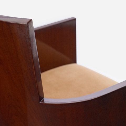 Ralph Lauren by EJ Victor - Modern Hollywood Arm Chair - 1613-27X