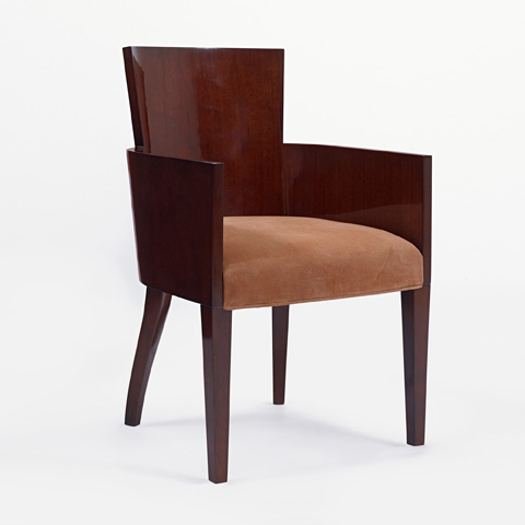 Ralph Lauren by EJ Victor - Modern Hollywood Side Chair - 1613-28X
