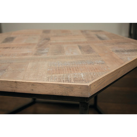 Riverside Furniture - Hexagon Coffee Table - 18301