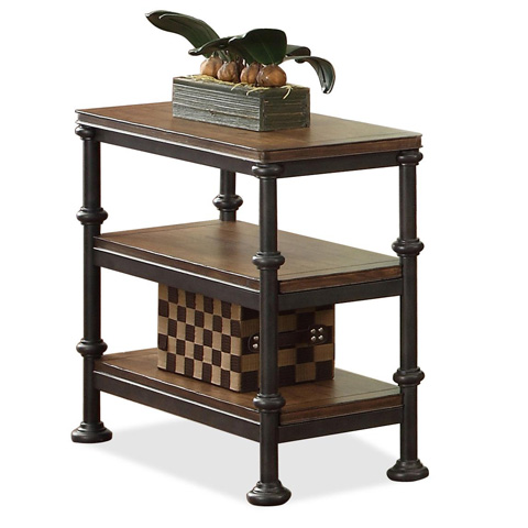 Riverside Furniture - Chairside Table - 23712