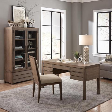 Riverside Furniture - Cabinet Bookcase - 26237