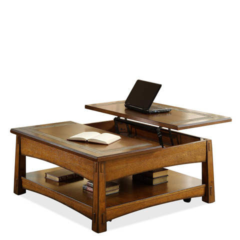Riverside Furniture - Square Lift Top Coffee Table - 2901